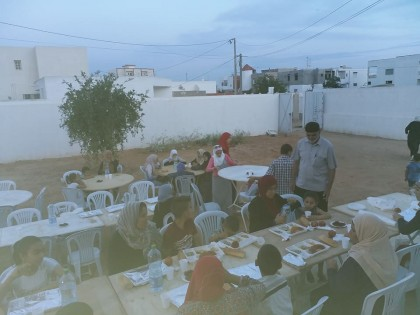 إفطار جماعي للعائلات المكفولة بمقر الجمعية